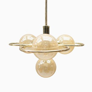 Hollywood Regency Orbit Ceiling Light, 1960s