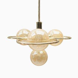 Lámpara de techo Orbit Hollywood Regency, años 60