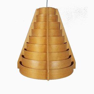 Lámpara colgante Mid-Century grande de Hans-Agne Jakobsson para Ellysett