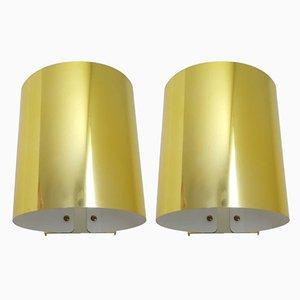 Brass Model 5607 Wall Lights from Ateljé Lyktan, Set of 2