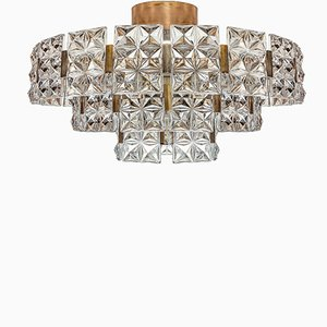 Large Mid-Century Chandelier by Egon Hillebrand for Hillebrand Lighting