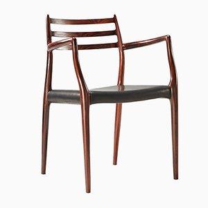 Modell 62 Stuhl von Niels Møller für J.L. Møllers, 1960er