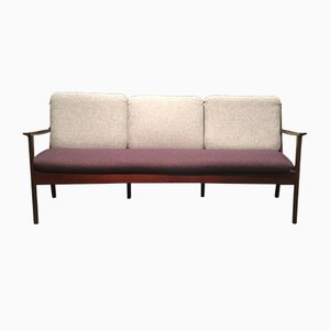 Three-Seater Sofa by Ole Wanscher for Poul Jeppesens Møbelfabrik, 1960s