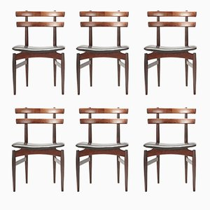Dining Chairs by Poul Hundevad, 1958, Set of 6