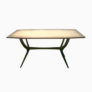 Beech Dining Table from Vittorio Dassi, 1950s