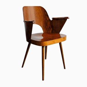 Mid-Century Chair by Lubomír Hofmann for TON
