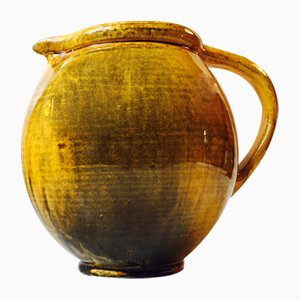 Jug with Uranium Glaze by Svend Hammerhoi for Kähler, 1920s