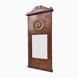 Antique Danish Mahogany Pier Mirror, 1820s