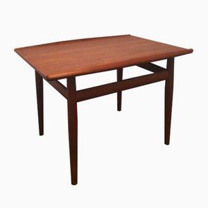 Table Basse en Teck par Grete Jalk pour Glostrup, Danemark, 1960s