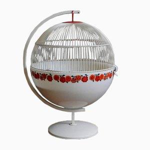 Round Space Age Bird Cage, 1970s