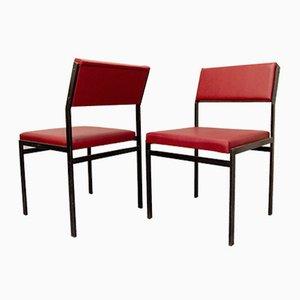 Chaises de Salon SM07 par Cees Braakman pour Pastoe, 1960s, Set de 6