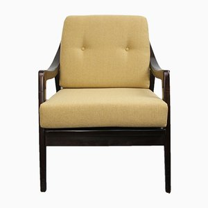 Armchair with Yellow Cushions, 1950s