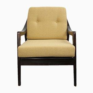 Sessel mit Gelben Polstern, 1950er