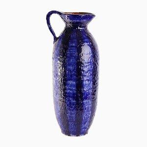 Jarrón de pie húngaro vintage de cerámica, años 70