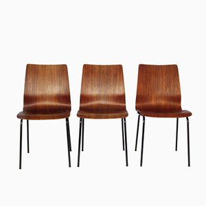 Mid-Century Chairs by Friso Kramer for Auping, Set of 3