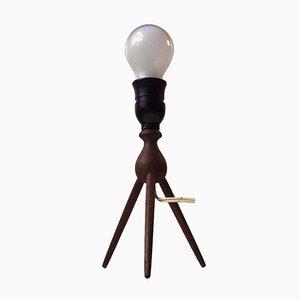 Mid-Century Teak Satellite Tischlampe von Severin Hansen für Haslev Møbelsnedkeri, 1950er