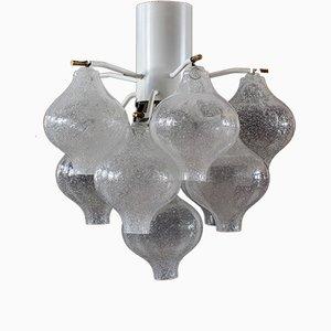 Lámpara de araña modelo Tulipan vienesa vintage de J.T. Kalmar. Juego de 2