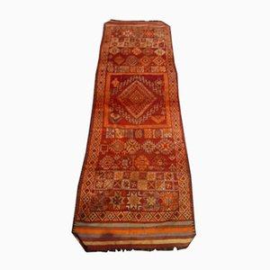 Antiker Marokkanischer Handgewebter Teppich, 1900er