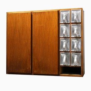 Credenza Frankfurter Kitchen con 8 cassetti Haarer di Margarete Schütte-Lihotzky, anni '50
