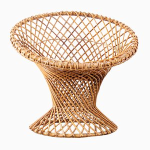 Vintage Rattan Chair from Rohé Noordwolde