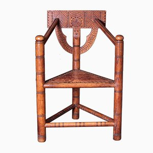 Chaise Arts & Crafts, Scandinavie, 1900s