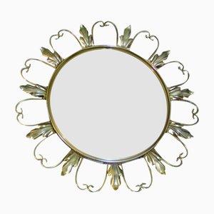 Espejo circular francés, años 60