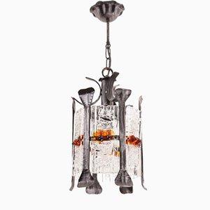 Vintage Brutalist Ceiling Lamp, 1970s