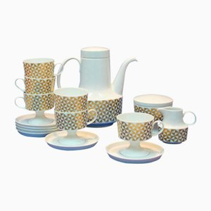 Service à Café Vintage en Porcelaine de Rosenthal