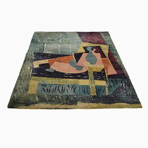 Picasso Sleeping Woman with a Bird Rug from Ege Axminster, 1988