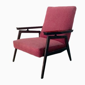 Italian Reclining Armchair, 1950s