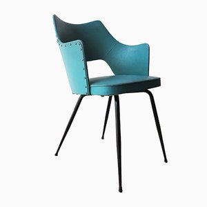 Fauteuil Turquoise, Italie, 1950s