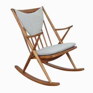 Rocking Chair by Frank Reenskaug for Bramin, 1950s