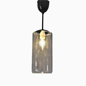Lampe à Suspension Mid-Century en Verre de Høvik Lamps