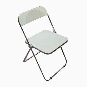 Vintage Italian Plia Folding Chair by Gian Carlo Piretti for Anonima Castelli
