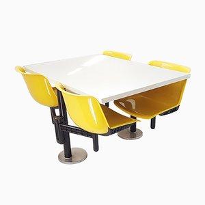 Modus Tisch & Stühle von Osvaldo Borsani für Tecno, 1972