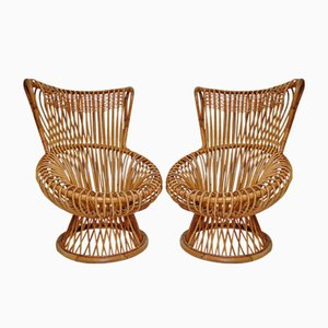 Margherita Easy Chairs, 1950s, Set of 2