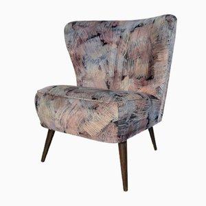 Velvet Cocktail Chair, 1950s