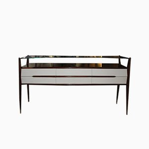 Rosewood Console Table, 1940s