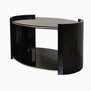 Oval Art Deco Coffee Table