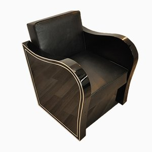 Chromliner Art Deco Chair