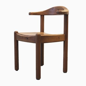Vintage Danish Wooden Armchair