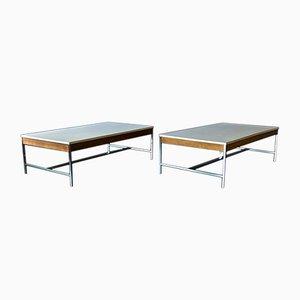 Tavolino da caffè nr. 5751 Mid-Century di George Nelson per Herman Miller, set di 2