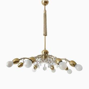 Grande Lampe à Suspension Mid-Century Moderne de Lobmeyr