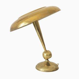 Lámpara de mesa Mid-Century ajustable de Oscar Torlasco para Lumi, años 50