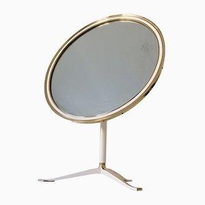 Grand Miroir de Table Mid-Century Moderne