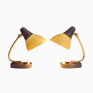 Lampade da tavolo, anni '50, set di 2