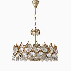 Suspension Mid-Century en Cristal de Palwa