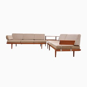 Minerva Sofa Set by Peter Hvidt & Orla Mølgaard Nilssen for France & Søn/ France & Daverkosen, 1950s