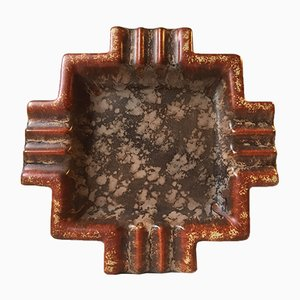 Keramik Art Deco 4219 Zigarren Aschenbecher von Michael Andersen & Son, 1930er