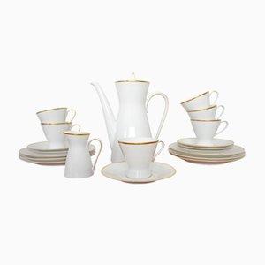 Service à Café pour 6 Personnes par Raymond Loewy & Richard Latham pour Rosenthal, 1950s